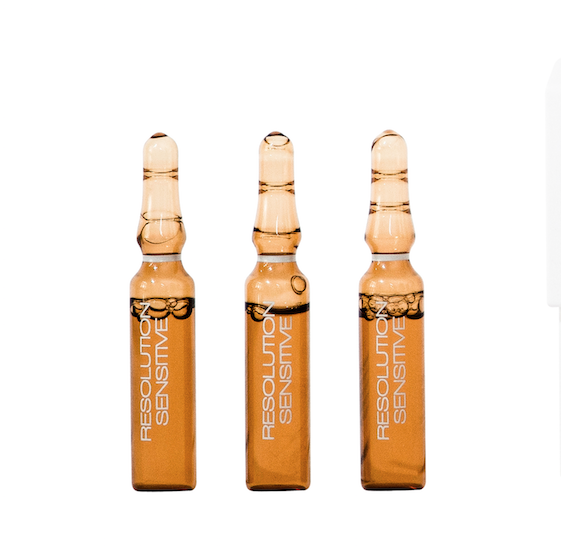 Resolution Sensitive Ampoule